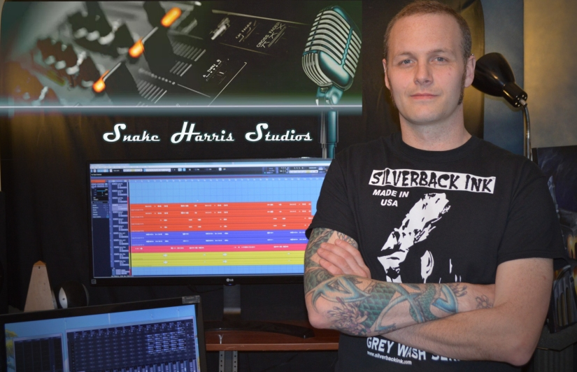 Faces Behind the Music: Snake HarrisStudios